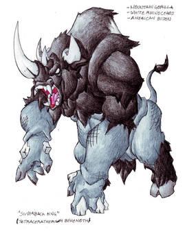 Silverback King by Darksilvania