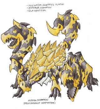 Hydra Scorpion by Darksilvania