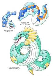 Aquatic Snakes V.2.0 by Darksilvania
