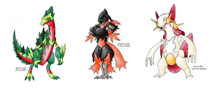 The Dark Starters Gen 3 by Darksilvania