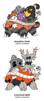 Ghostly Torterras by Darksilvania