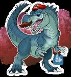 Mariosaurus Rex by Darksilvania