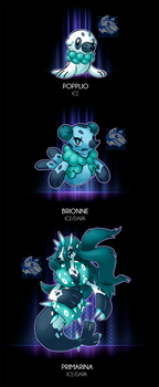 Kroelian Popplio by Darksilvania