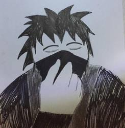 Cloaked in darkness by NearRyuzaki90
