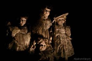 Haunted Dolls by stargirlphotography