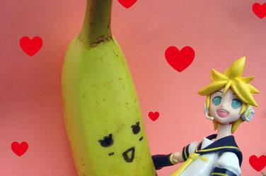 figma Len- True Love by Yami-Usagi