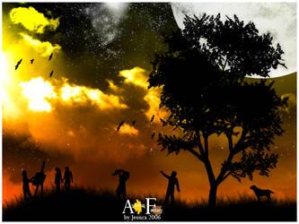 Autumn fantasy by moonburst23