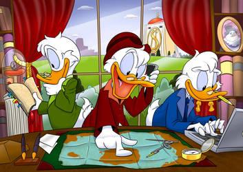 DuckTales Anniversary by GreyOfPTA