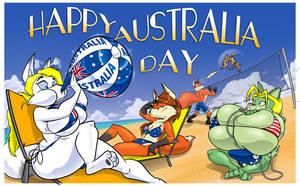 Acme Aussie Day by GreyOfPTA
