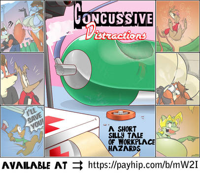 Concussive Distractions Is Now Available by GreyOfPTA