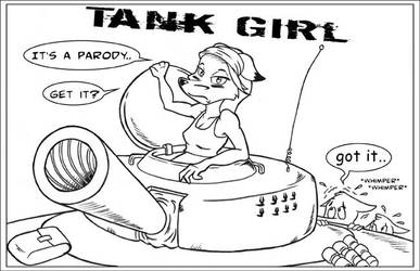 Tank Girl by GreyOfPTA