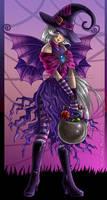 Halloween Witch Fairy by AnnieMsson