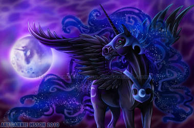 Mare in the Moon by AnnieMsson