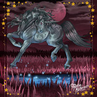 Painted Unicorn by AnnieMsson