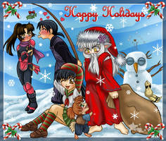 Happy Holidays by AnnieMsson