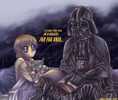 Evil vs. Innocence by AnnieMsson