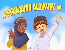 Assalaamu alaikum by Nayzak-Studio