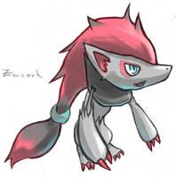 Chibi-Zoroark by doghiko