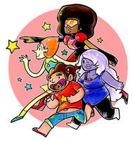 steven universe by SaltyMoose