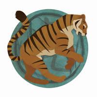 Chinese Zodiac: Tiger by erinwitzel