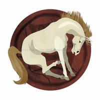 Chinese Zodiac: Horse by erinwitzel
