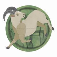 Chinese Zodiac: Ram by erinwitzel