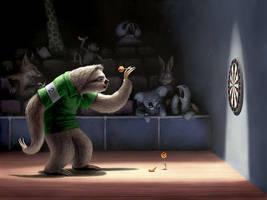 Sloth Darts by BenHartnett