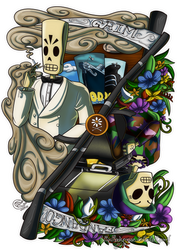 Fan Art - Grim Fandango by LadyRosse