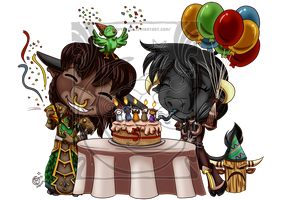 CM - PeM - Anniversary by LadyRosse
