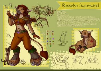 Character Sheet - Rosseka by LadyRosse