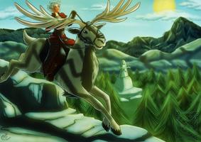 DAI - Hart riding by LadyRosse