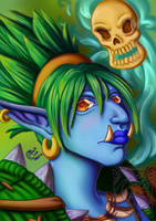 Portrait Enjin by LadyRosse