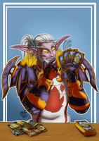 CM - Night elf warrior by LadyRosse
