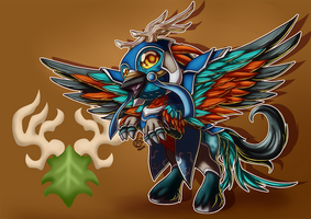 Chibi Mount - Cenarion Hippogryph by LadyRosse
