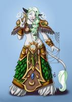 CM - Tauren Druid by LadyRosse