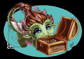 CM - Cherry dragon 2 by LadyRosse