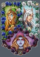 FanArt - Windrunner sisters by LadyRosse