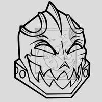 CM - Headless Knight by LadyRosse