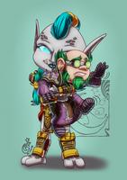 CM - Zandalari and gnome by LadyRosse