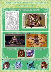 Patreon Rewards - October 18 by LadyRosse