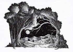 Radagast the Brown - He That Walks Alone by Yeldabon