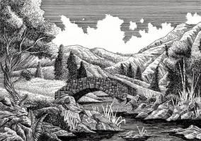 The Brandywine Bridge by Yeldabon