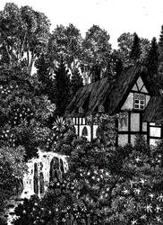 In the Home of Tom Bombadil by Yeldabon