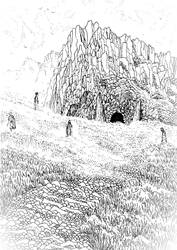 The Dead go Walking by Yeldabon
