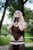 Daenerys Targaryen, dothraki version by Wildyama