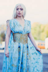 Daenerys cosplay Qarth dress by Wildyama
