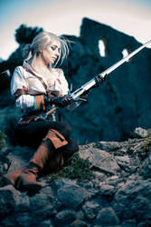 Ciri The Witcher III cosplay by Wildyama