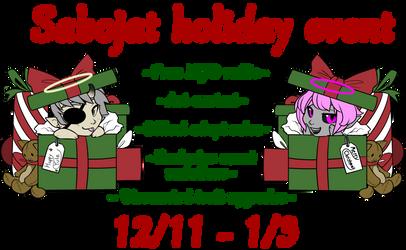 2018 Sabojat Holiday Event~!! by SujiFuji