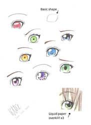 Manga eyes by MangaAnimeLover