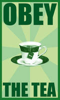 Obey the tea by trs